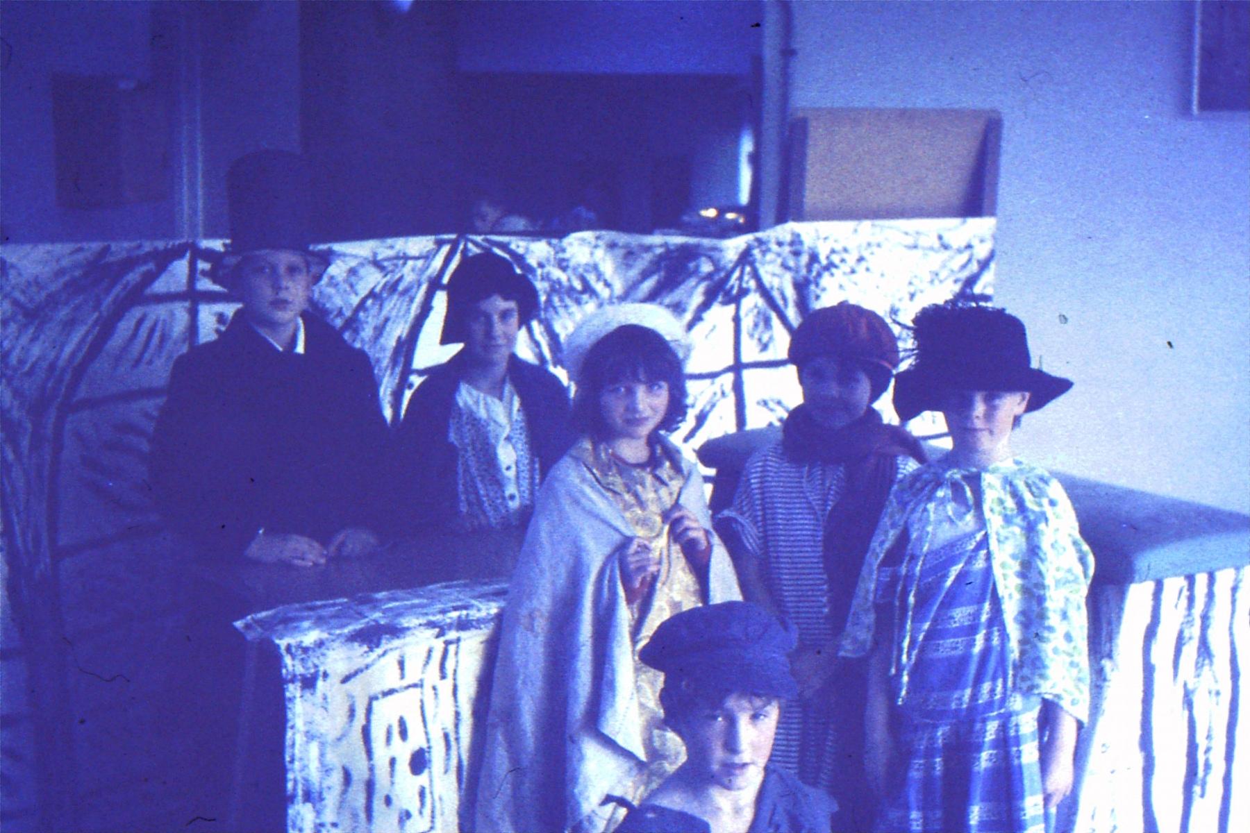1966-69 Middle Barton School - School Production.