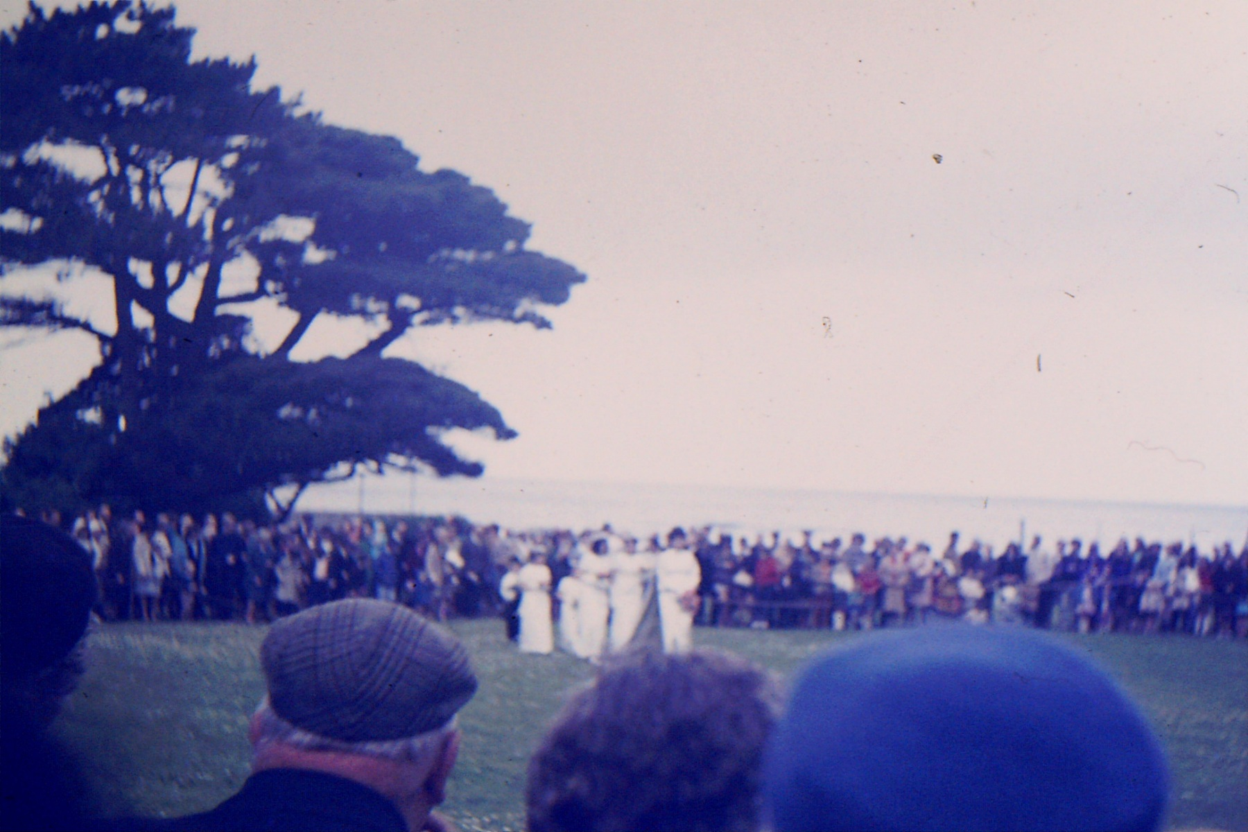 1966-69 Middle Barton School - Field trip to Yenworthy, Somerset - Arrival of the May Queen.