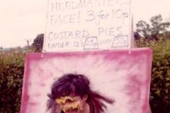 c. 1978 Middle Barton School Fete. Headteacher Martin Cox.