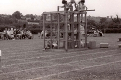 c. 1978 Gymnastics display.