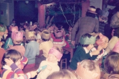 c. 1978 Middle Barton School Christmas Lunch.