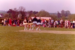c. 1979. School Fete. Dancing display by the Middle Barton School of Dance - Anne Gross.