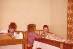 c. 1980 Barnes Close. Simon Day, Darren Wickham and Simon Coombes.