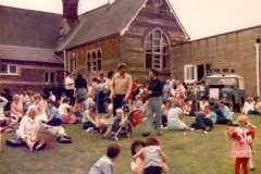 c. 1980 Middle Barton School Fete.