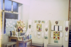 1966-69 Middle Barton School - Assembly Hall display.
