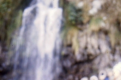1966-69 Middle Barton School - Field trip to Yenworthy, Somerset - Waterfall.