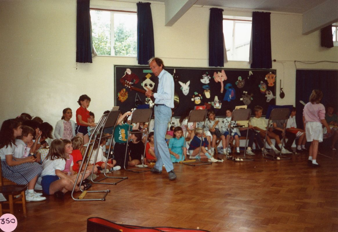 July 1988 Presentation to Miss J. Sullivan. Mr. Martin Norton.