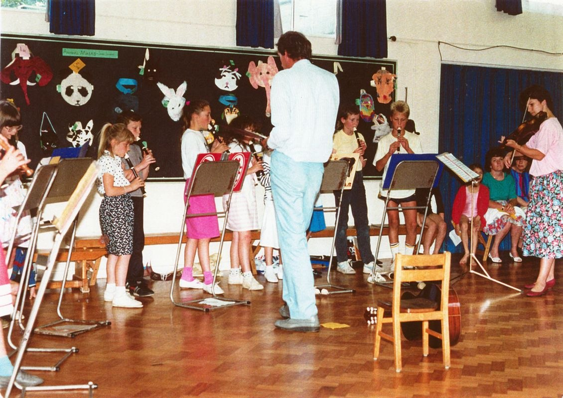 July 1988 Presentation to Miss J. Sullivan.