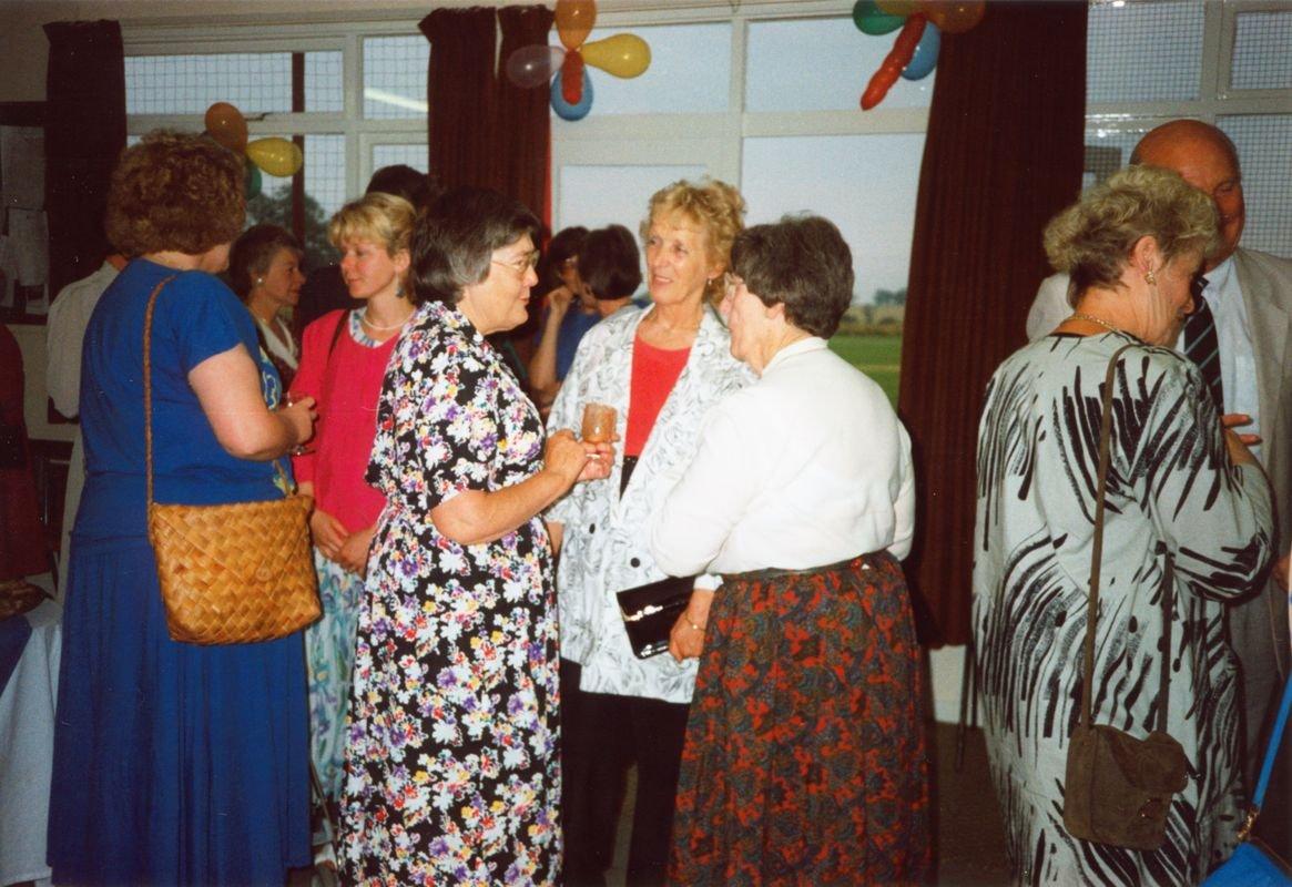 Kay Davies, Joan Alexander and Joan Sullivan.