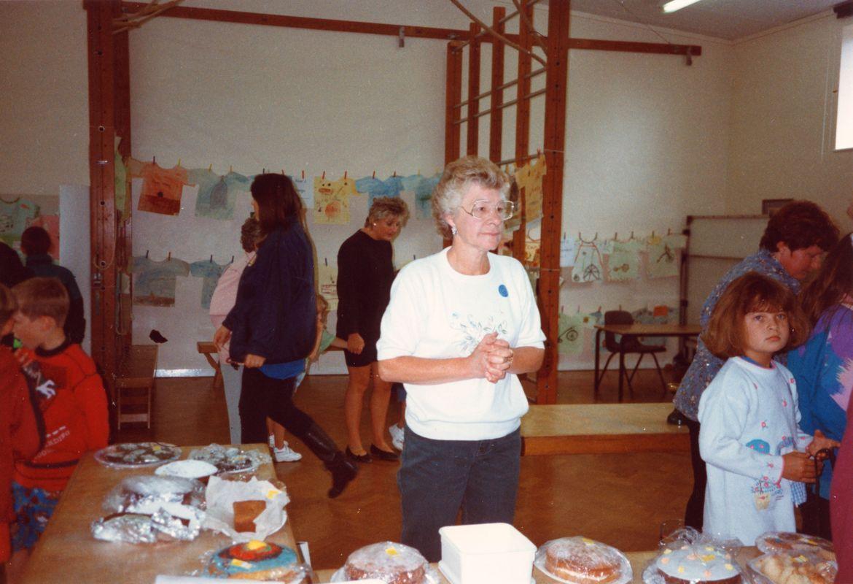July 1996 School Summer Fayre. Rose Panting.