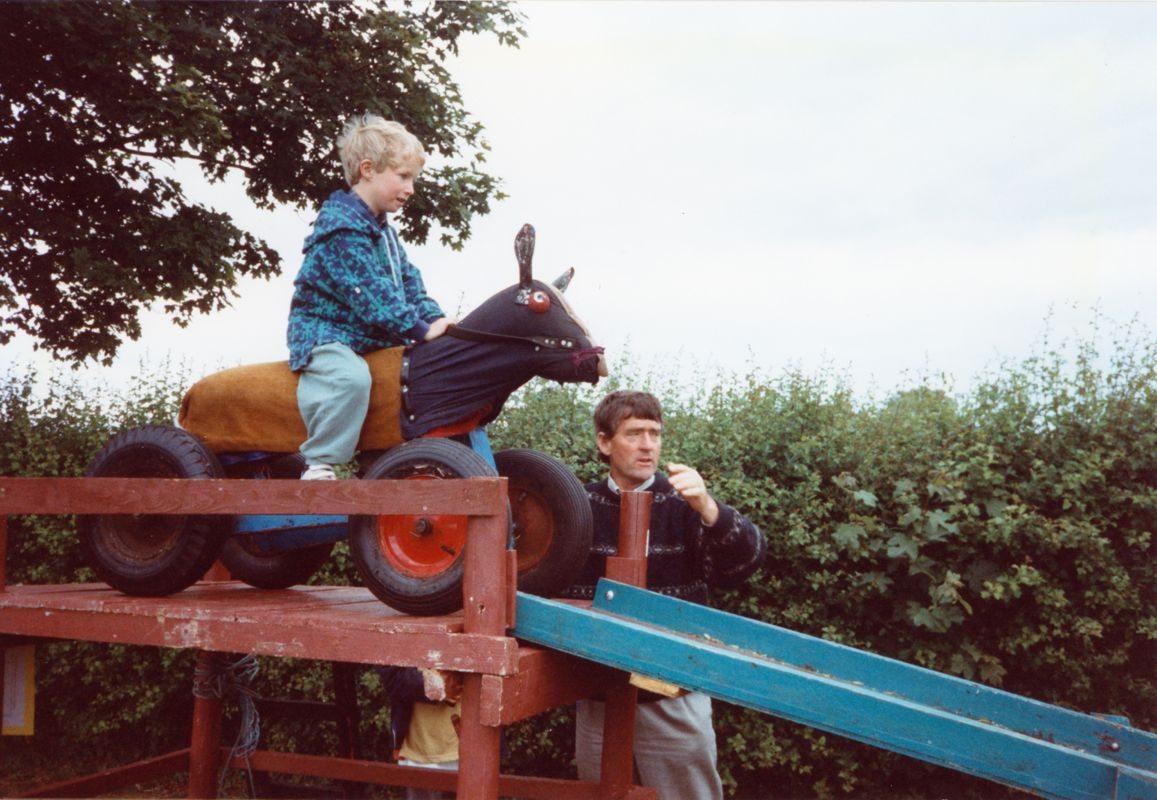 July 1996 School Summer Fayre. Andrew Henderson.