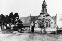 1906 The Primary School. Photograph taken by the Director of Education of the time. The entrance in the photograph was for the boys; the entrance for the girls was at the other side of the building.