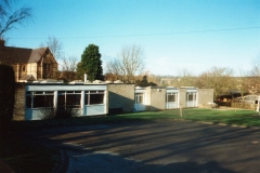 1999 Car park at the east side of the classrooms.