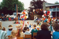 May Day 1988 Celebrations - the opening of the garage.
