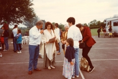 July 1996 School Summer Fayre. Emma Samms.