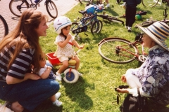 July 1996 School Summer Fayre.