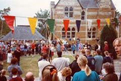 May 1998 School PTA sponsored cycle ride.