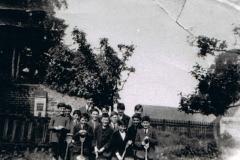 c. 1925. Back row: Jack Stockford, ? Keen, Peter Stockford, Jack Smith, George Kirby, Albert Bolton, Don Stockford.