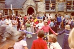 1976 Middle Barton School Fete.  (School 2)