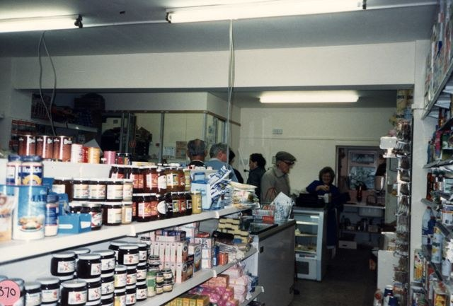October 1988 Webb's shop.