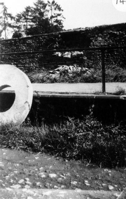 1952 Installing sewerage.