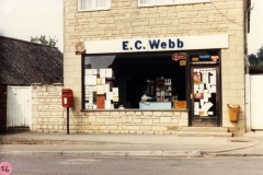 1986 Webb's shop.