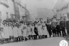 c.1905 school or Sunday school groups.