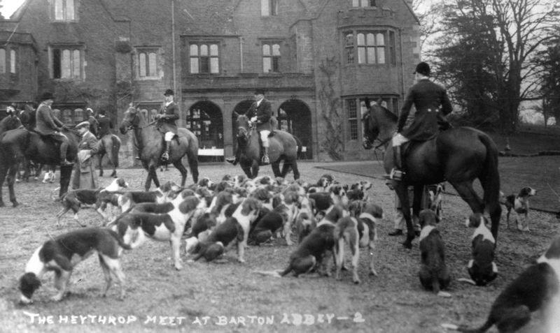 The Meet at Barton Abbey.