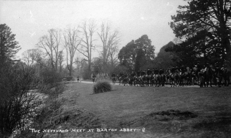 The Heythrop Meet at Barton Abbey.