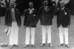 1932 Walter Parsons, Ronnie Riach, George Hope, Albert Paine.