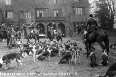 The Meet at Barton Abbey.
