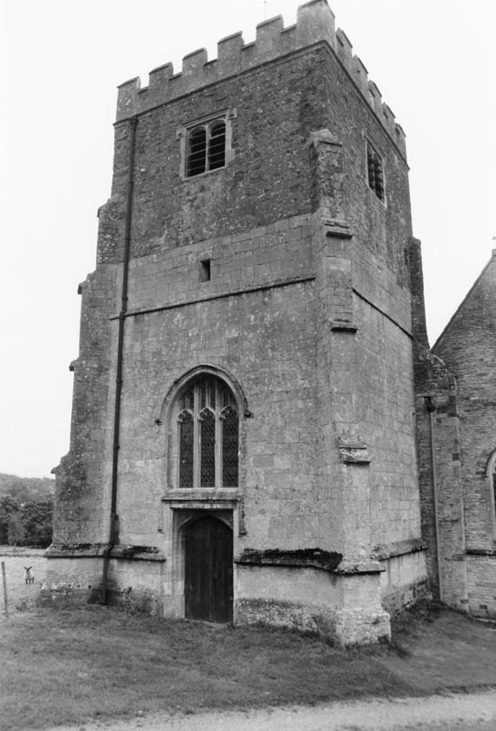 September 1988 West view of tower (JM).