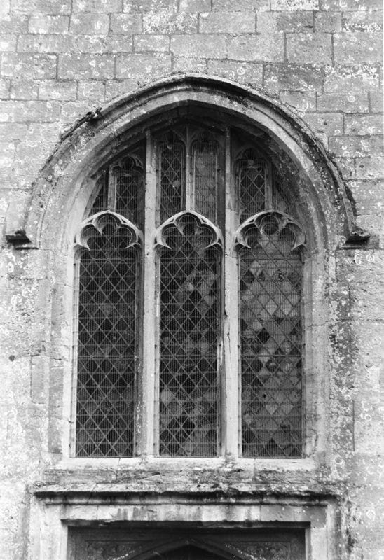 September 1988 Window in tower (JM).