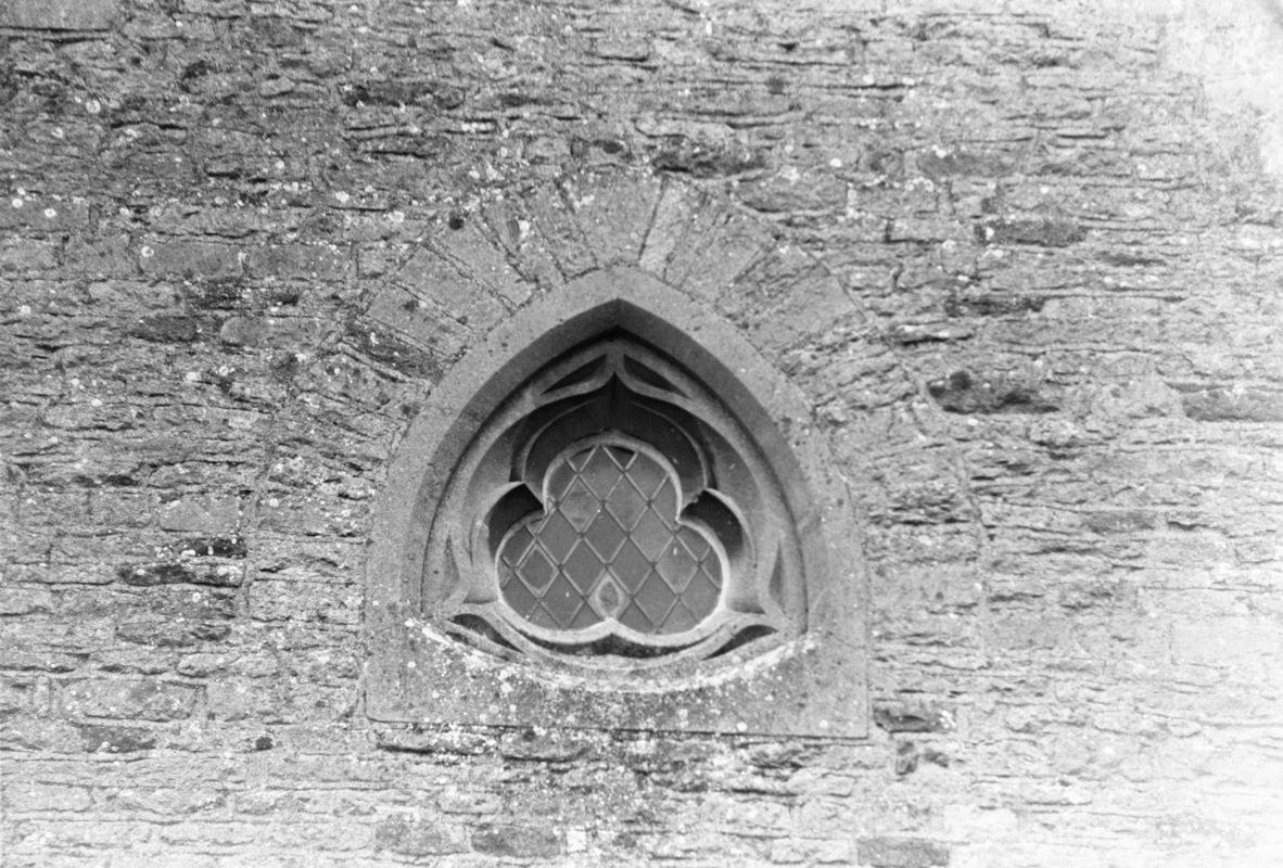 September 1988 Window on east wall (JM).