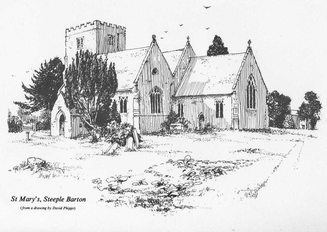 St. Mary's Steeple Barton.