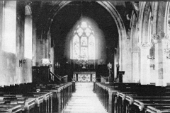c.1888 Steeple Barton Church.