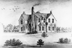c. 1870 Drawing of the Vicarage.