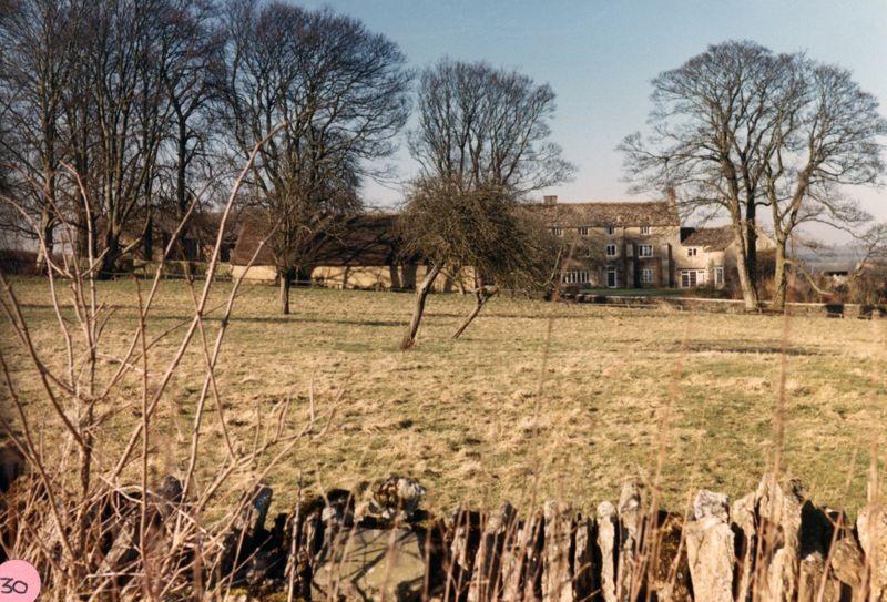 1986 Church Farm from the Church Yard.
