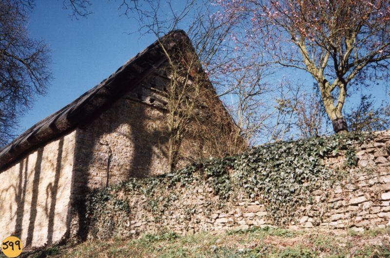 March 1995 Barn at Church Farm.
