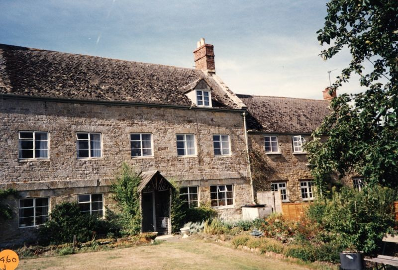 1990 Woodman's Cottage and Mead Cottage.