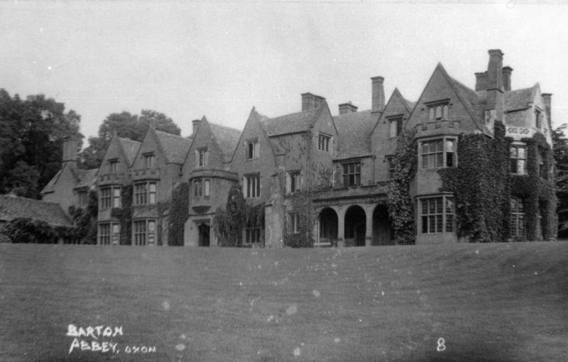 1920s Barton Abbey.