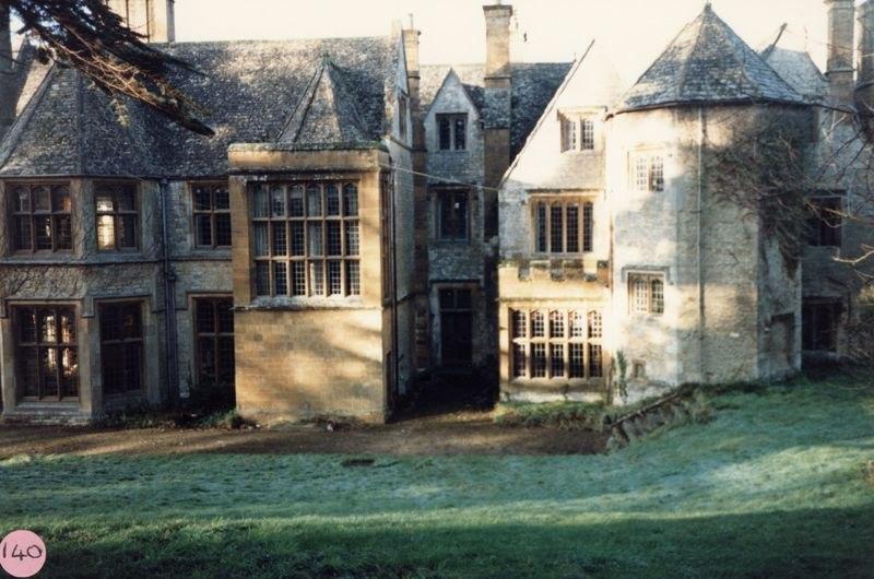 1986 Barton Abbey - back of house.