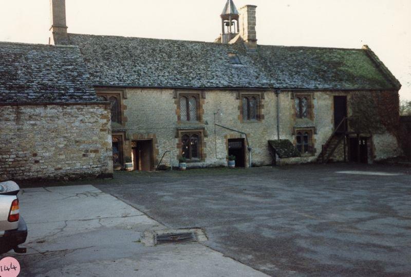 1986 Barton Abbey - stable block.