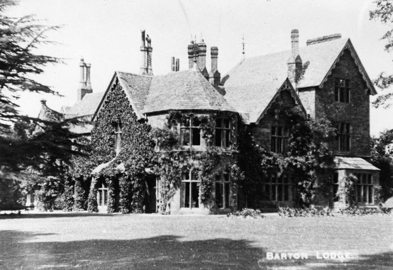 c 1900 Barton Lodge.