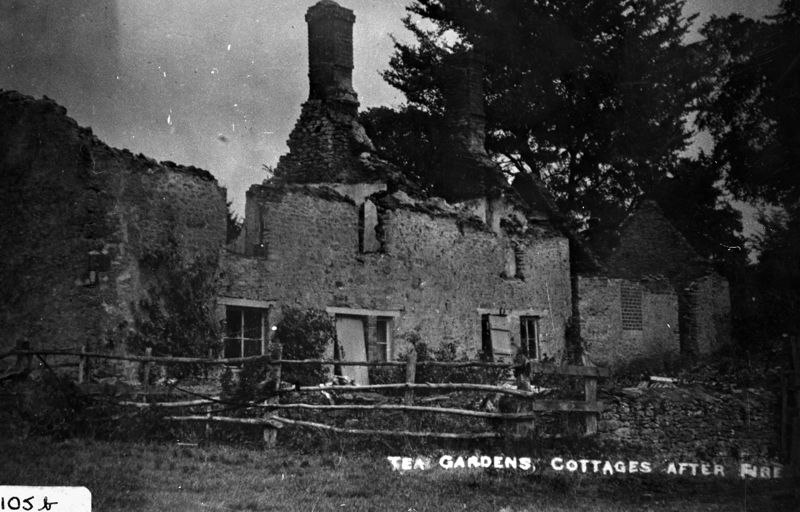 Tea Gardens, now demolished. Near the western boundary of Abbey Wood.
