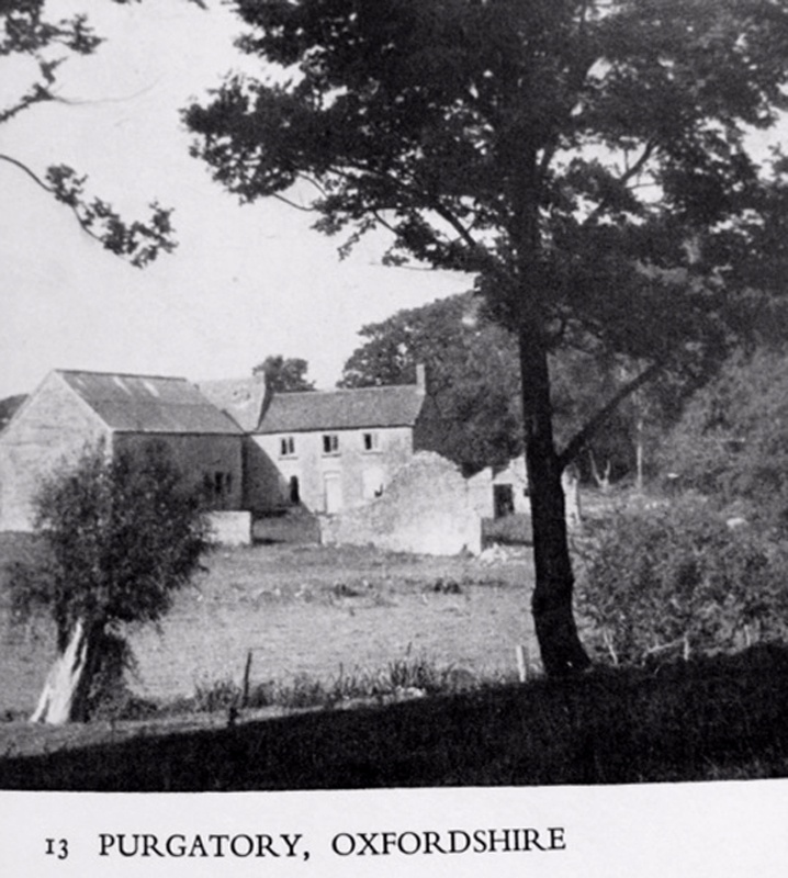 Purgatory - cottages, barn and ruins. Unknown date. Only a barn remains.