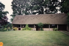June 1990 Church Farm. Barn used for concerts etc.