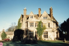 1986 Barton Abbey - south west side of house.
