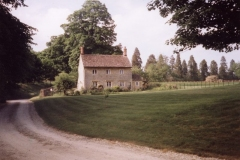 June 1998 Barton Abbey. Laundry cottage.