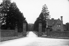 1920s/1930s Barton Abbey Lodge. Built 1924 on the road between Hopcroft's Holt and Middle Barton.